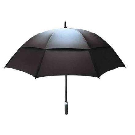 Double Canopy Firbreglass Shaft Windproof Umbrella - double canopy firbreglass shaft windproof umbrella - 1    - Hole In One Golf
