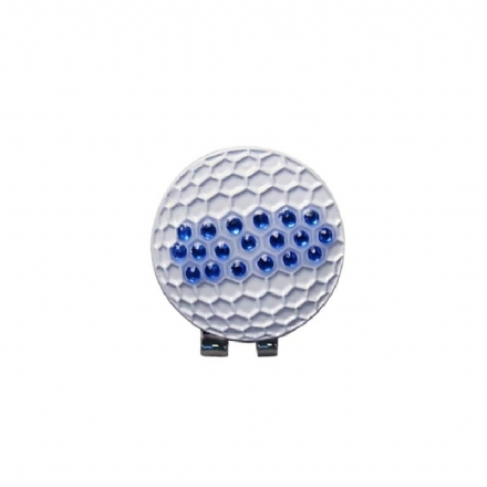 Crystal Golf Ball Magnetic hat clip - Hole In One Golf Accessories ... 843c4f979351